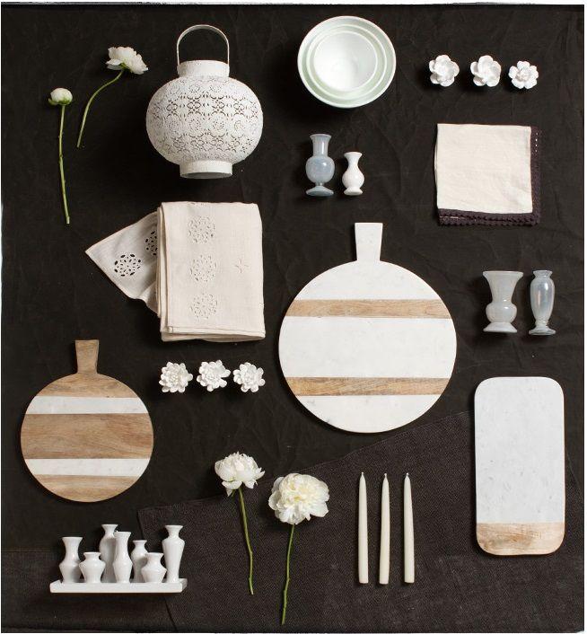 White Accents At Terrain Home Decor Design Looks