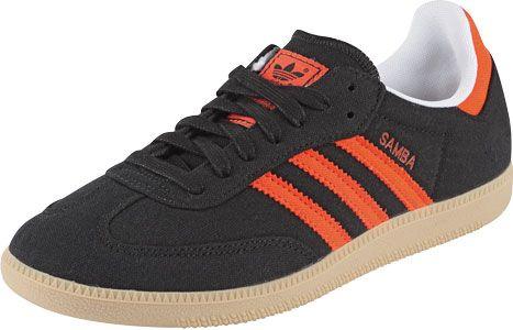 Cumbre submarino a menudo  Adidas Samba Vegan shoes black orange red | Orange black, Vegan shoes, Adidas  samba