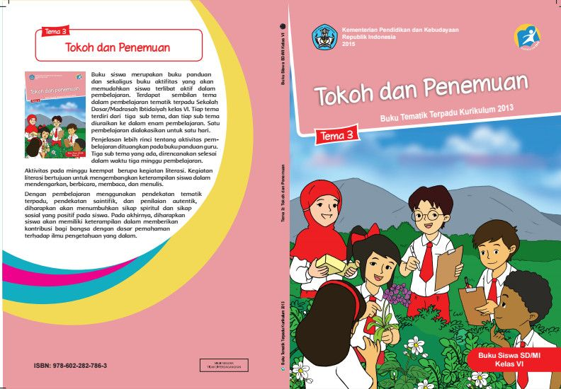Download Buku Kurikulum 2013 Sd Kelas 1 Tema 3