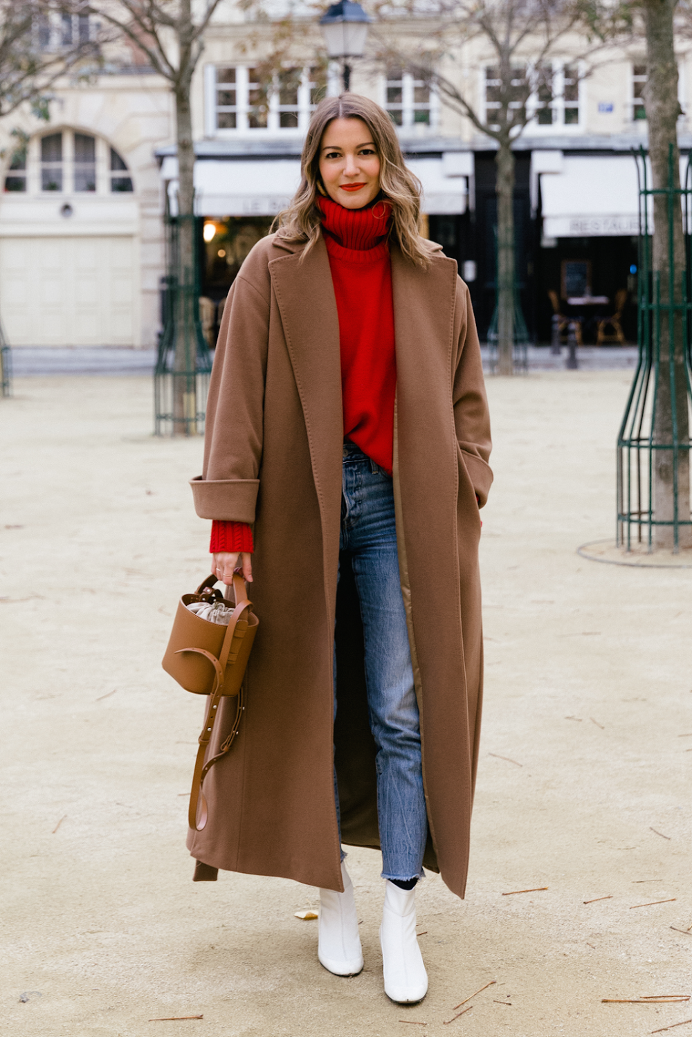 This Stylish Outfit Idea Is Perfect for Thanksgiving
