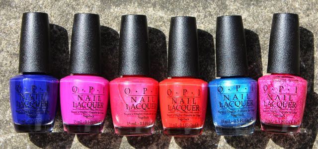 OPI Brights Swatches