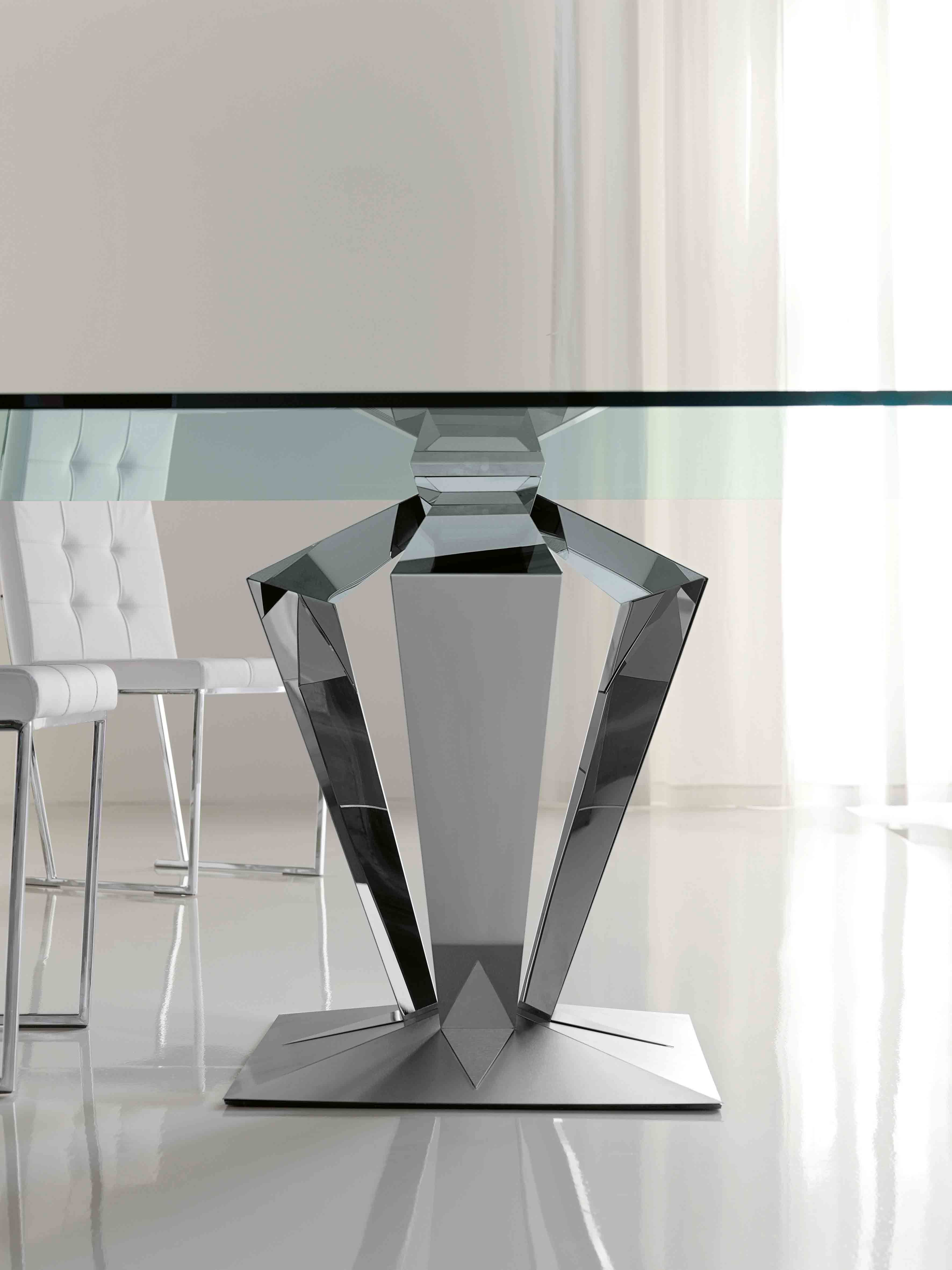Square Glass Dining Table Glamorous Photo On Interior Design Color Ideas  With Square Glass Dining Table. Wood Table BasesRound ...