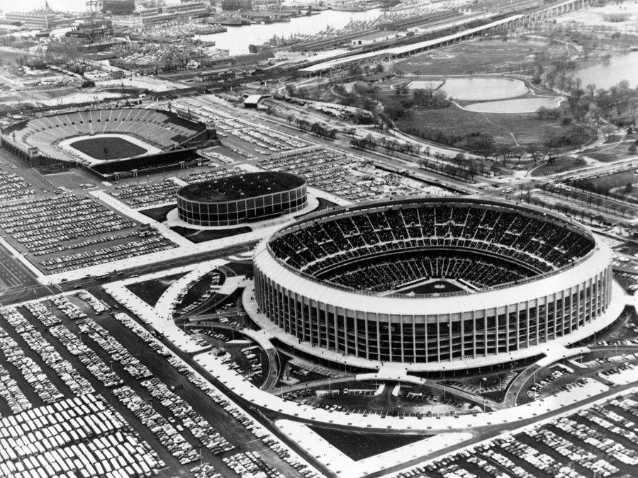 Veterans Stadium, The Spectrum, JFK Stadium (1971
