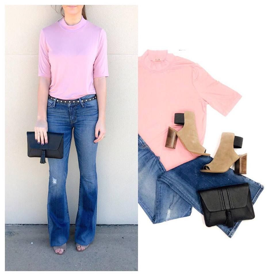 See It On A Spanish Town Look That Is Spring Transitional And Work Appropriate Shop The Look Today Until 6pm Cool Outfits Fashion Outfits