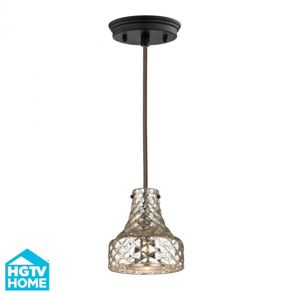 modern lighting concepts. Danica 1 Light Pendant In Oil Rubbed Bronze 5x6 46023/1 Modern Lighting Concepts