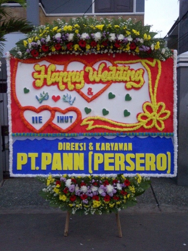 Toko bunga pernikahan Jakarta Selatan Bunga, Toko bunga