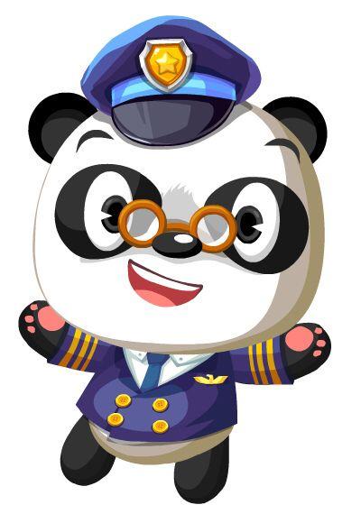 Dr Panda With Images Cute Panda Panda Panda Bear