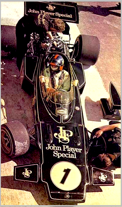 1972 John Player Special Lotus 72 Cosworth Ford F1 Grand Prix Car - Emerson Fittipaldi