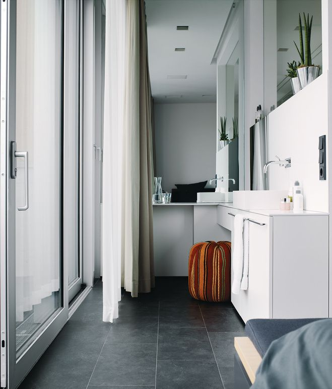 Bulthaup Berlin The Bedroom And Bathroom Make Up The Private Zones On The