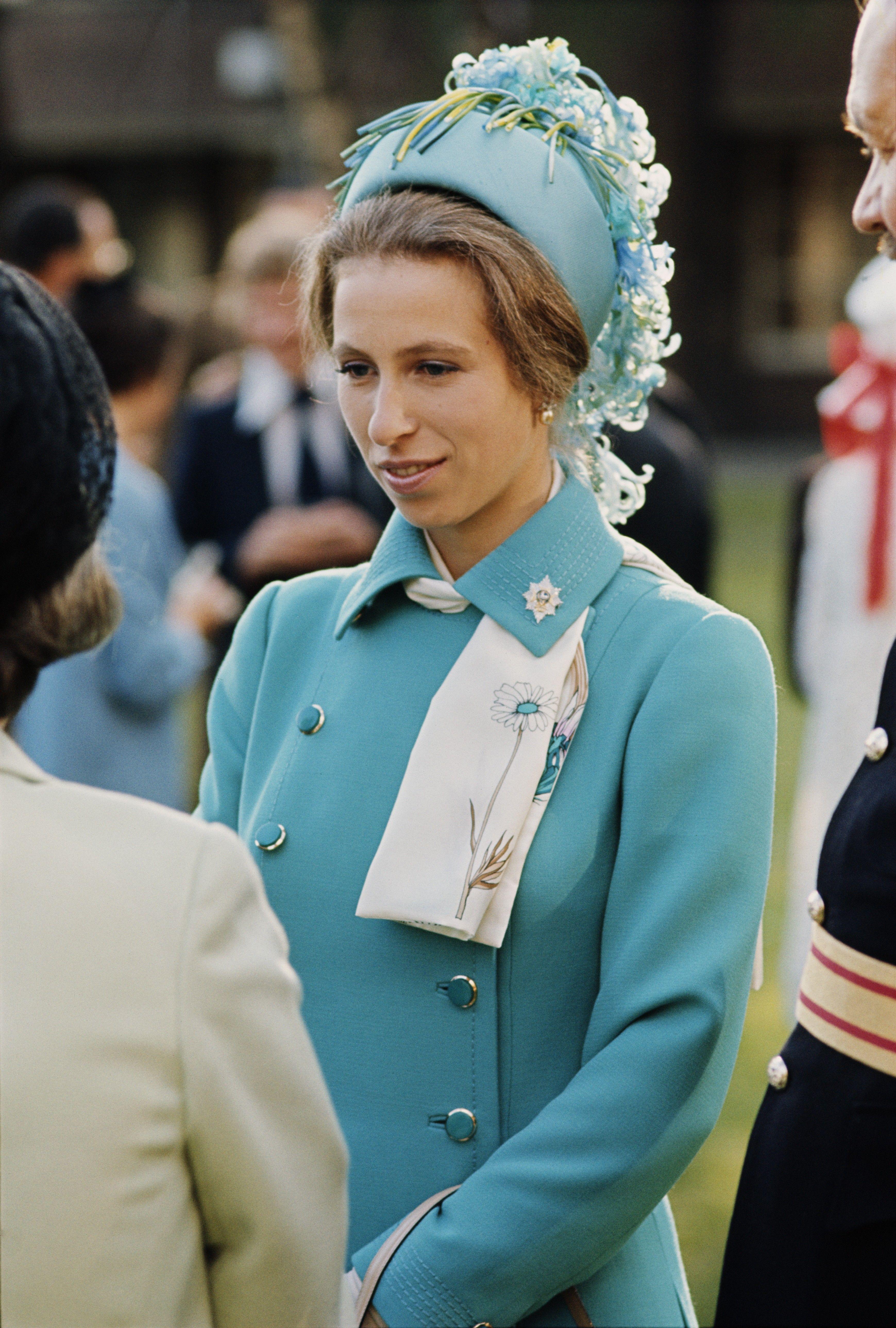 Princess Anne in Berlin, 1973 Princess anne, Royal