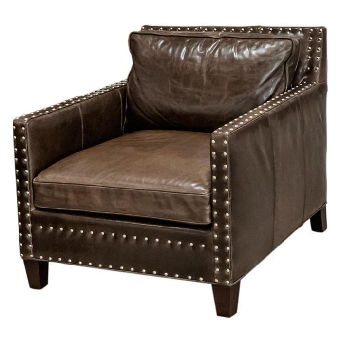 Best Brown Leather Accent Chair Nebraska Furniture Mart 400 x 300