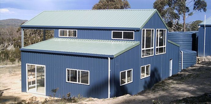 Lodges Steel Kit Homes Shed Houses Shed House Plans Shed Homes Metal Building House Plans