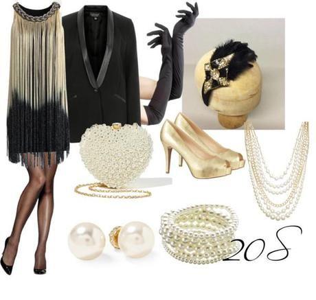 8 Ideas Para Disfraz Caseros O Improvisados Paperblog Moda Estilo Años 20 Fiesta De Los Años 20 Vestidos Años 20