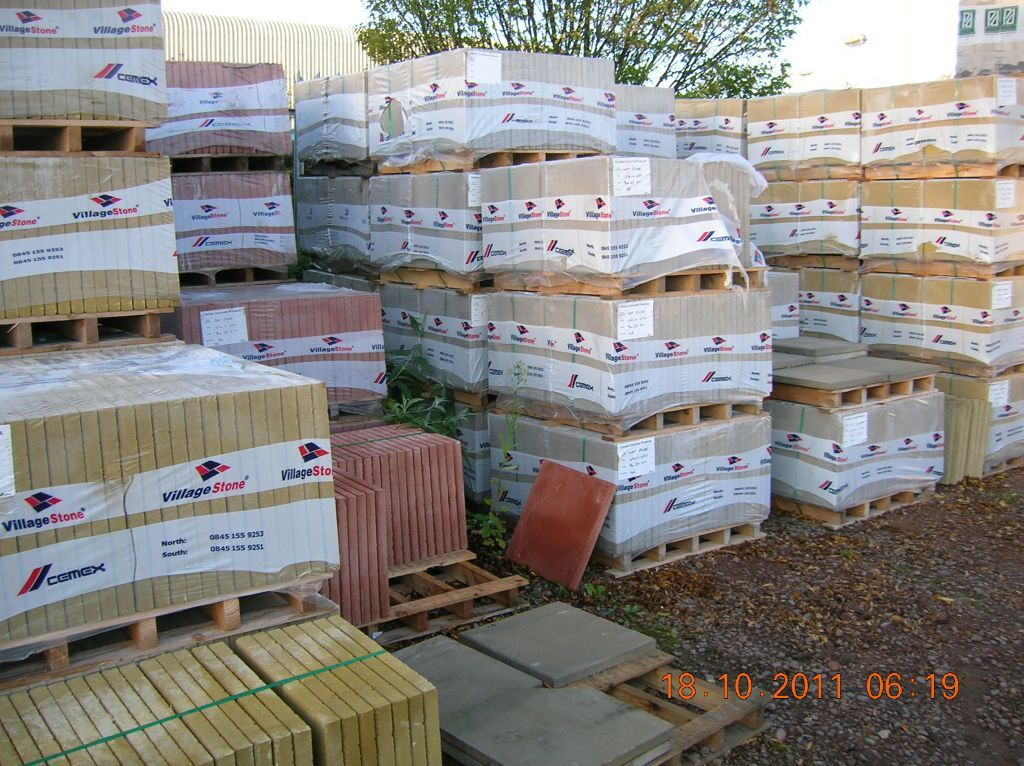 Budget Paving Slabs Andrews Building Supplies Ltd With Images