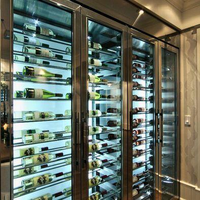 Beautiful custom built wine fridge