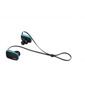 ELBE ABT-034-DEP AURICULAR BLUETOOTH DEPORTIVO - A prueba de salpicaduras (nivel de protección certificado: IPX4) - Micrófono incorporado. - Muy ligero, pesa solo 15 gr. - Bluetooth V2.1+EDR. - Perfiles soportados: Headset, Handsfree, A2DP, AVRCP. - Batería recargable 120mA Li-ion. - Hasta 6 horas de reproducción. - Stand-by hasta 120 horas. - Dimensiones: 36.2 x 21.2 x 29.7 mm.