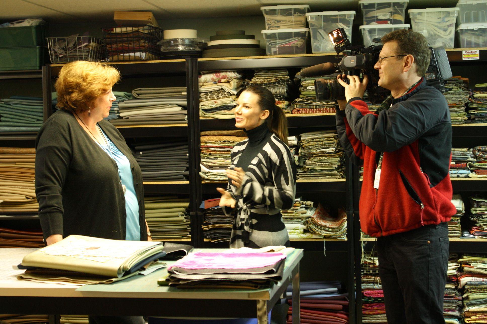 CTV National News 'Canadian Originals' shoot Echo, The