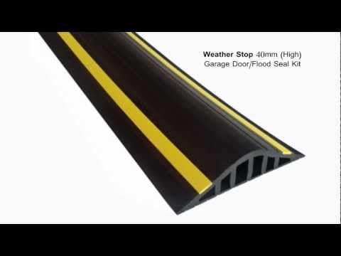 Weather Stop 40mm High Garage Door Flood Barrier Seal Kit Youtube Garage Doors Flood Barrier Used Garage Doors