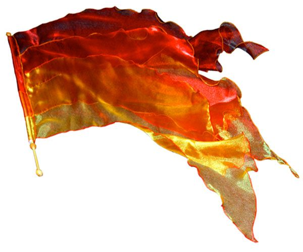 Worship Flags - Fire Flag  Must re-create    Dance ministry
