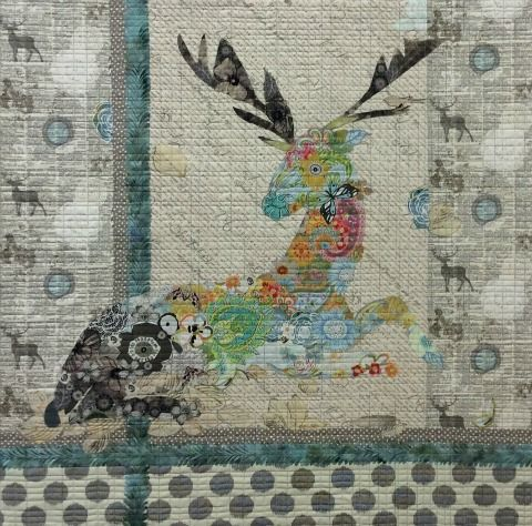 Oh Deer Pattern by Laura Heine | QUILTS | Pinterest | Deer pattern ... : photo collage quilt - Adamdwight.com