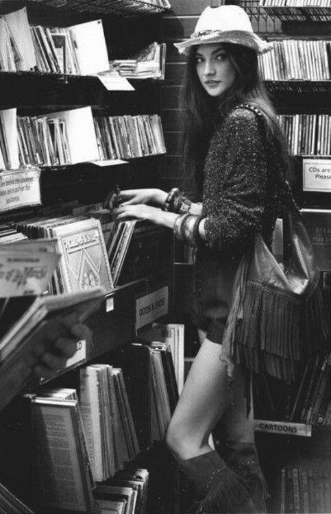Vinyl & A Lady