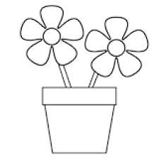 Image result for flower outline drawings for kids mosaic pictures