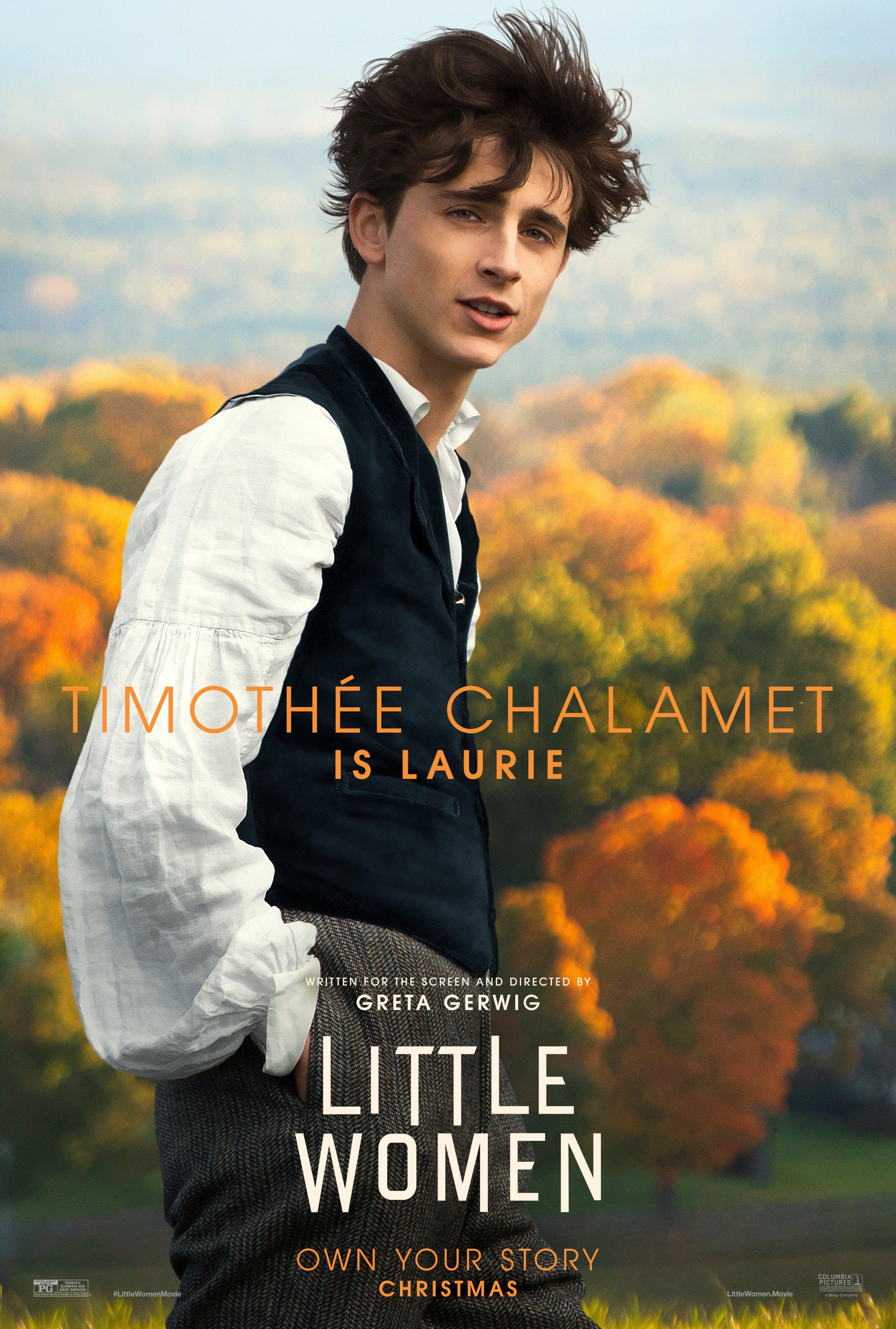 Little Women On Women Poster Woman Movie Timothee Chalamet