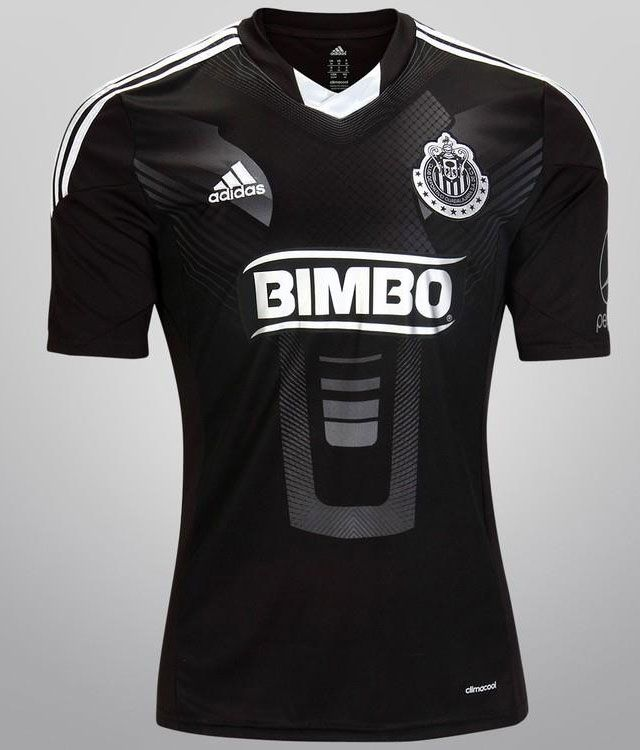 "detailed look 2f50e f03d6 Chivas go ""all black"" with new adidas third jersey 