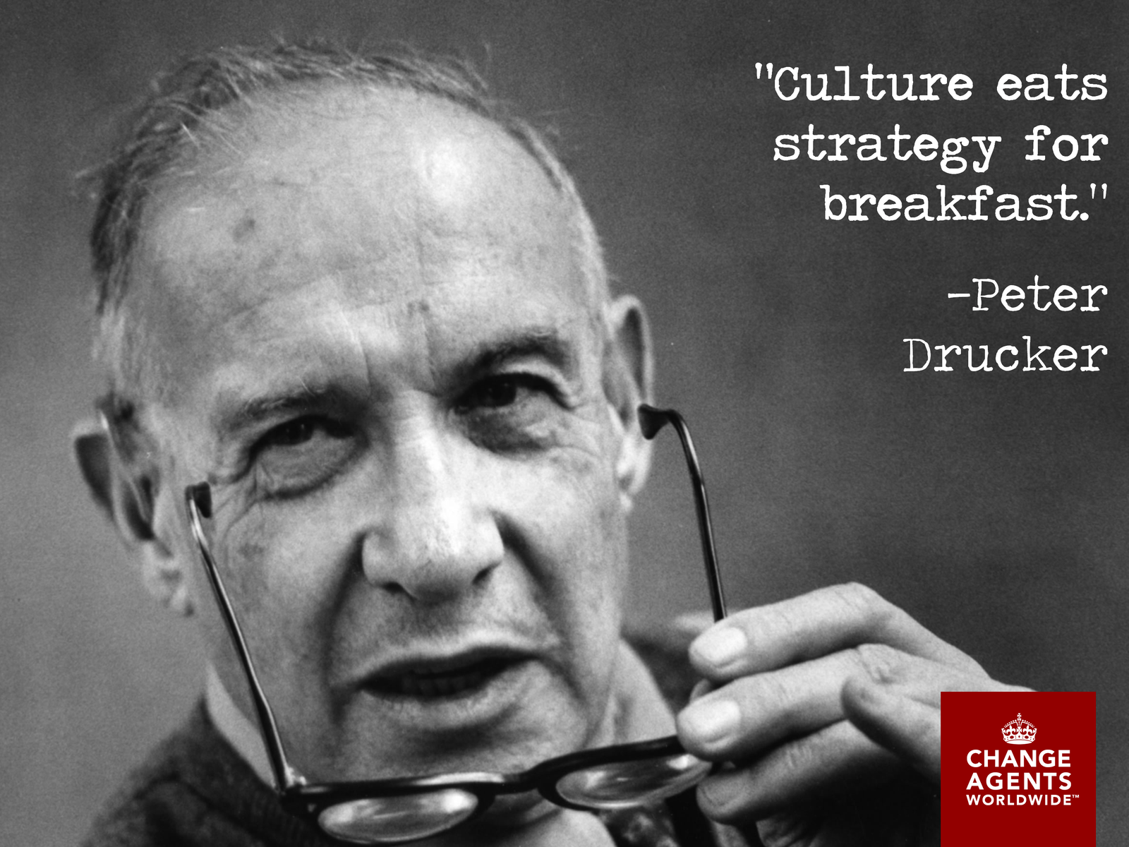 Peter Drucker Change management, Management by