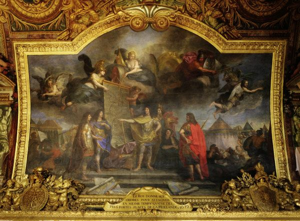 Charles Le Brun - Louis XIV  Attack