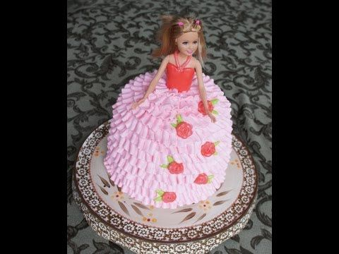 PRINCESS CAKE How to make princess birthday cake how to cook that