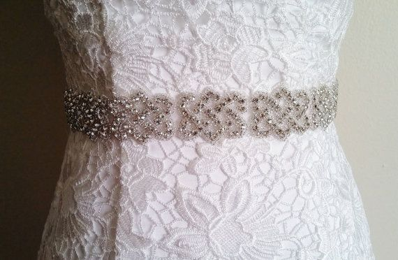 Celtic Wedding Dress Sashes