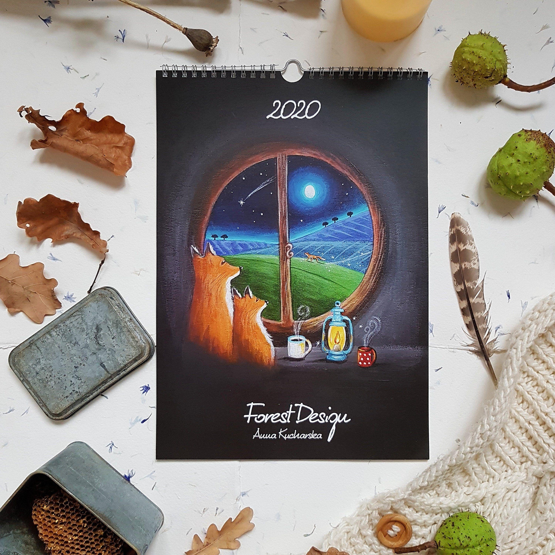 2020 Wall Calendar 2020 Fairytale Wall Calendar 2020 Magical