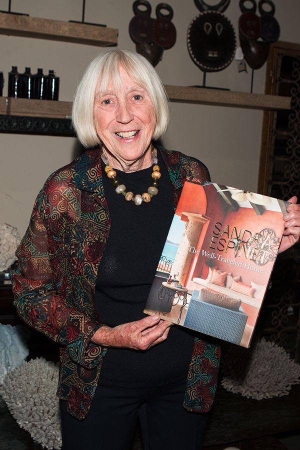 Maureen Johnson at The Well-Traveled Home by Sandra Espinet book signing at Berbere World Imports in Los Angeles, May 2014. #thewelltraveledhome #sandraespinet #interiordesign #berbereworldimports