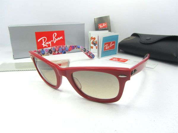 817f8c10261 Ray Ban sunglasses RB2140 1051 51 In Red mix purple colours Ray Ban RB2140  sunglasses