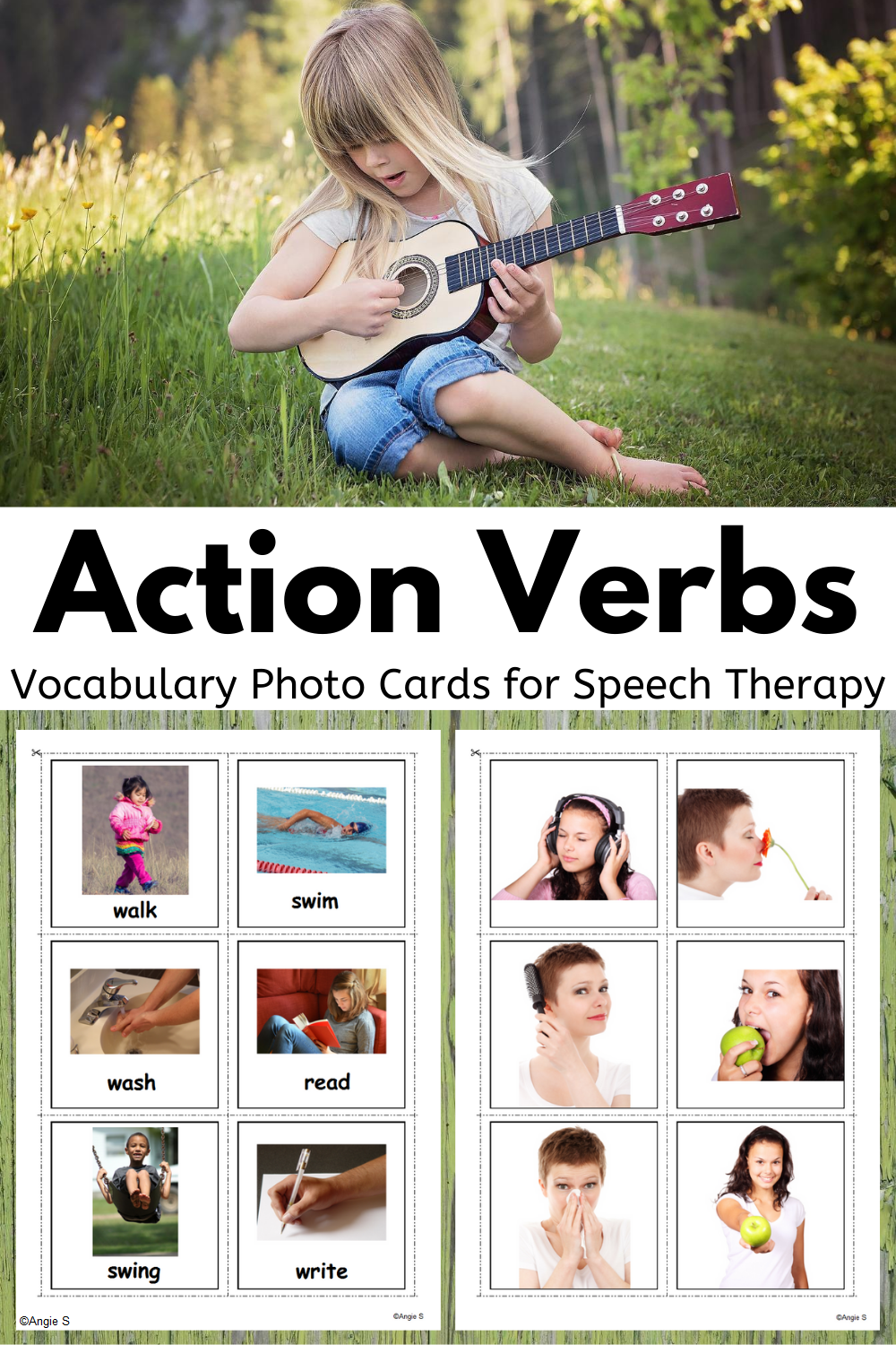 Action Verbs Picture Cards For Speech Therapy Special Education Resources Speech Therapy Special Education [ 1500 x 1000 Pixel ]