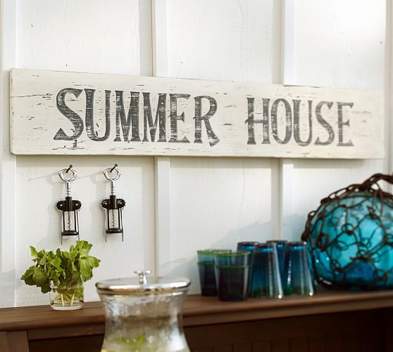 Summer House Sign Jamesport house Pinterest - amerikanische küche einrichtung