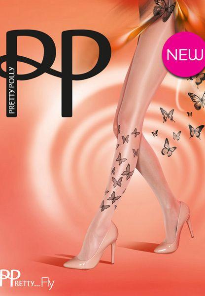 Siidisukk - Fly tights by Pretty Polly