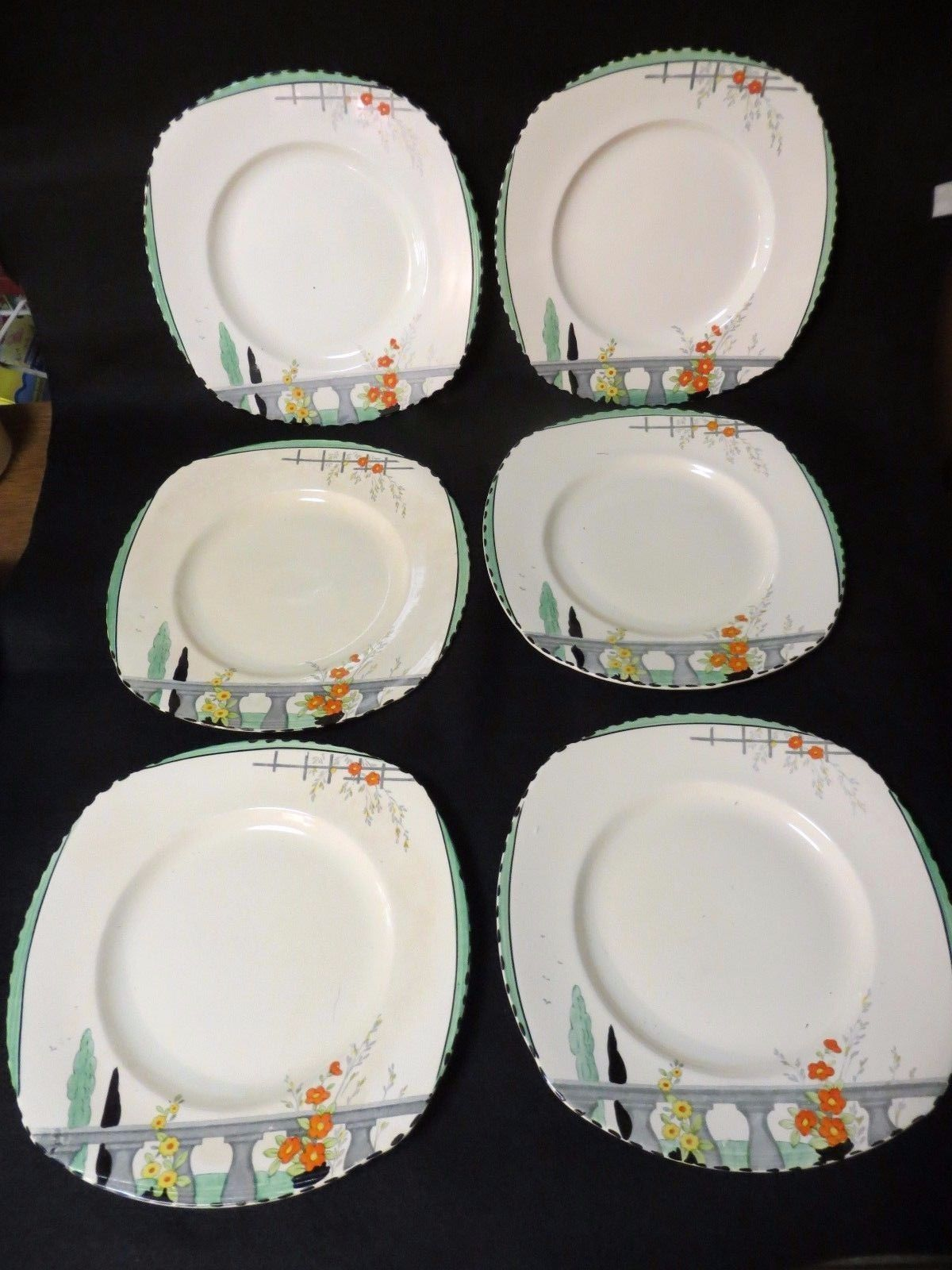 Burleigh ware Riviera dinner plates- set of 6 & Burleigh ware Riviera dinner plates- set of 6 | Dinner plate sets ...