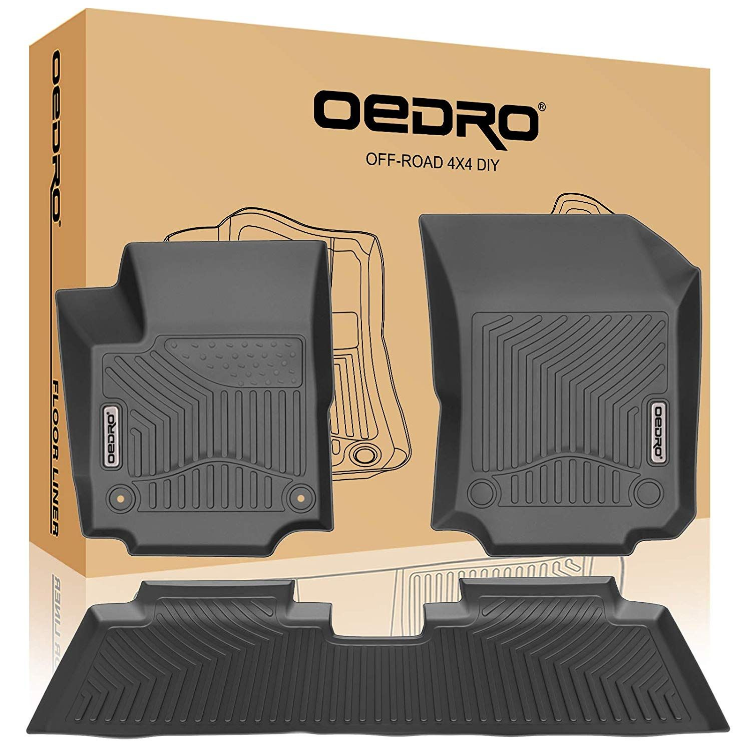 Oedro Floor Mats Compatible For 2018 2020 Chevrolet Equinox