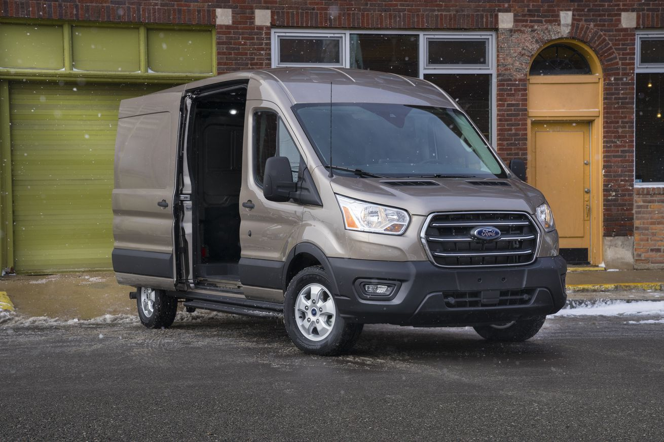 Ford Announces An All Electric Transit Cargo Van In 2020 With