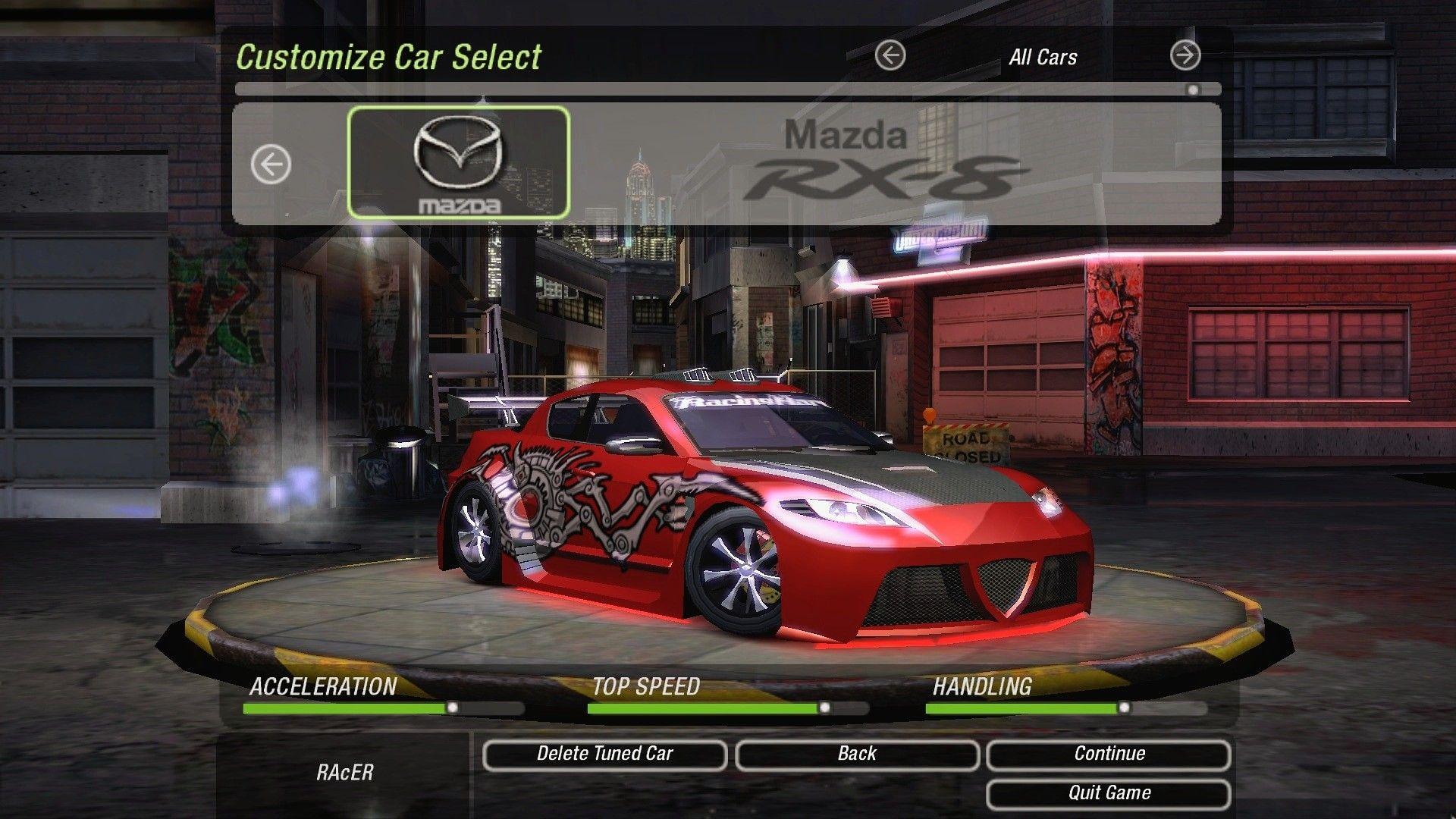 Mazda Rx 8 Need For Speed Underground 2