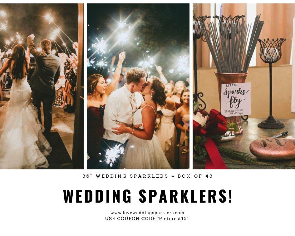 Wedding Sparklers Wedding Sparklers Sparklers Wedding Send Off