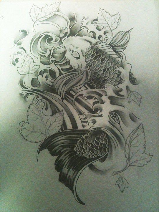 Pin de Ian CV en ORIENTAL Pinterest Tatuajes Koi y Carpas koi