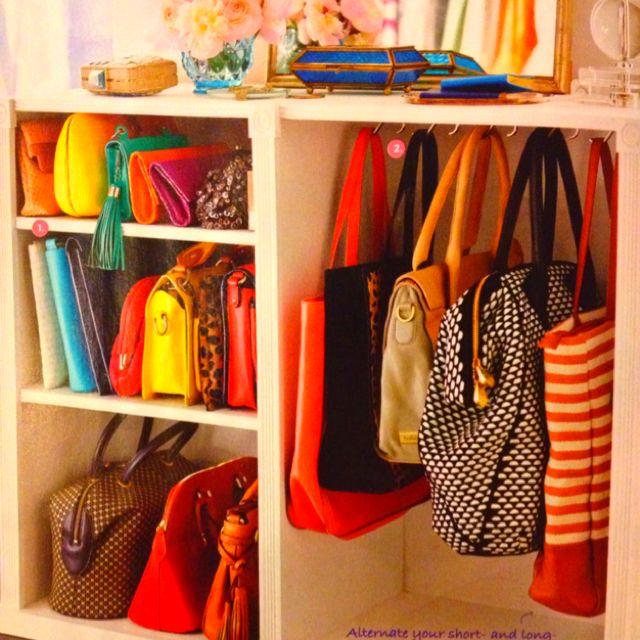 Closet Purse Organizer Ideas Part - 34: Organize Your Bags