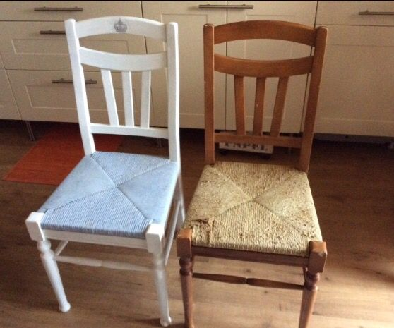 Sedie Francesi ~ Vecchie sedie dipinte con chalk paint sedie
