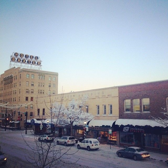 #downtownbozeman #bozeman #winter #baxterhotel