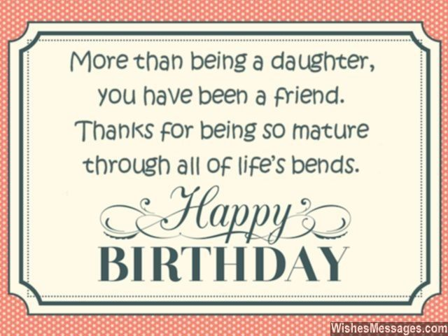 Daughter Quotes For Facebook: Birthday Wishes For Daughter: Quotes And Messages