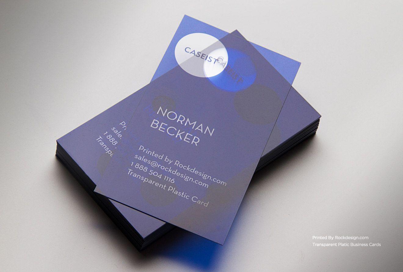 Rockdesign Com Plastic Business Cards Clear Business Cards Plastic Business Cards Plastic Business Cards Design Clear Business Cards