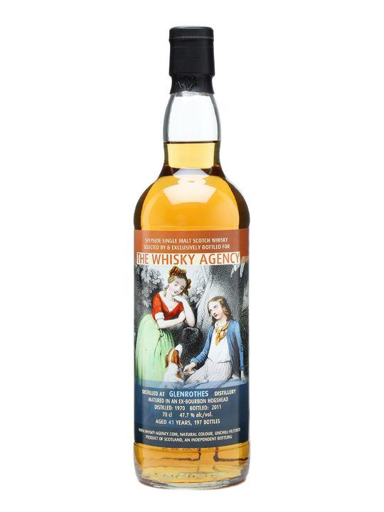 Glenrothes 1970 / 41 Year Old / The Whisky Agency - a whisky worth while